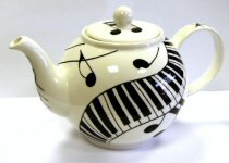 Music Design Teapots and Tea for One
