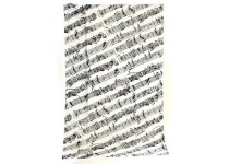 Music Design Tea Towels, Piano and Flute
