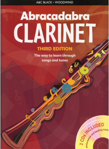 Abracadabra Clarinet Third Edition (With CDs)