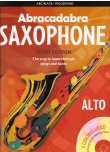 Abracadabra Saxophone Third Edition (With CDs)