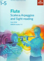 Flue Scales Arpeggios and Sight-Reading from 2018 Grades 1-5
