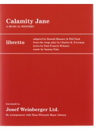 Calamity Jane - A Musical Western (Libretto)