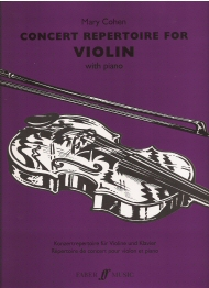 Concert Repertoire for Violin
