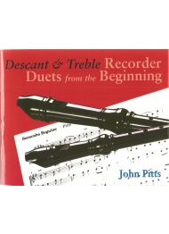 Descant and Treble Recorder Duets From The Beginning