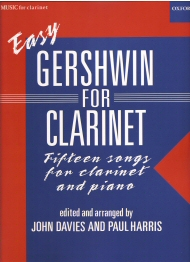 Easy Gershwin For Clarinet