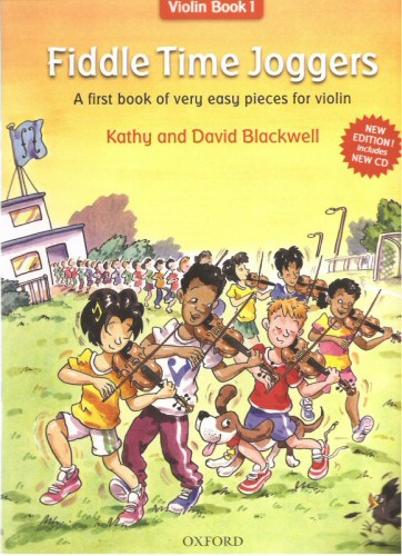 Fiddle Time Joggers Violin Book 1 with CD