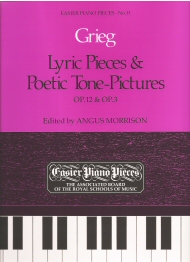 Lyric Pieces and Poetic Tone-Pictures Op.12 and Op.3