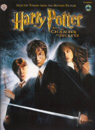 Harry Potter And The Chamber Of Secrets for Clarinet