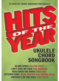 Hits of the Year Ukulele Chord Songbook