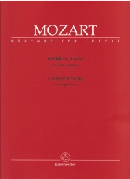 Mozart Complete Songs High Voice