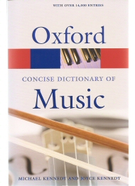 Oxford Concise Dictionary of Music