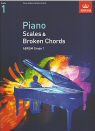 Piano Scales and Broken Chords Grade 1