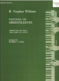 Fantasia on Greensleeves Piano Duet