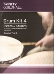 Drum Kit 4 Grade 7 and Grade 8 From 2007 (with CD)