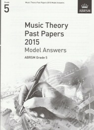 Music Theory Past Papers 2015 Grade 5 Model Answers