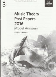 Music Theory Past Papers 2016 Grade 3 Model Answers