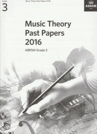 Music Theory Past Papers 2016 Grade 3