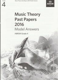 Music Theory Past Papers 2016 Grade 4 Model Answers