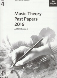 Music Theory Past Papers 2016 Grade 4
