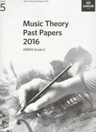 Music Theory Past Papers 2016 Grade 5