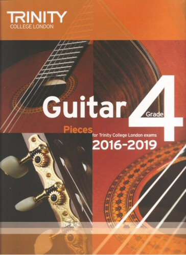 Guitar 2016 - 2019 Grade 4 Pieces
