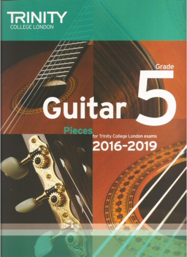 Guitar 2016 - 2019 Grade 5 Pieces