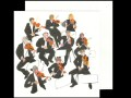 This card features an artistic interpretation of a group of orchestral violinists originally painted in watercolour.