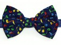 Colourful Quaver Notes Bow Tie