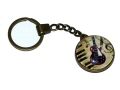 Bronze Effect Archtop Style Guitar Keyring