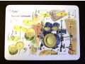 Drums Placemat - Instruments Series