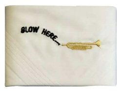 Blow Here Mens Handkerchief