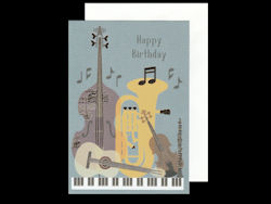 Clearwater Birthday Instruments Card