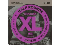 DAddario EHR320 Half Rounds Super Light Gauge