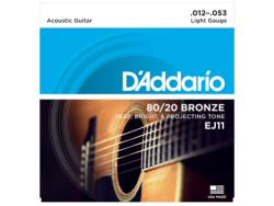 DAddario EJ11 80/20 Bronze Light Set