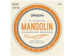DAddario EJ74 Mandolin String Set Medium