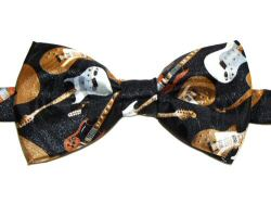 Electric Guitars Bow Tie