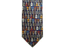 Guitars Selection Silk Tie