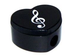 Heart Pencil Sharpener Treble Clef