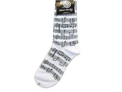 Ladies Socks Manuscript and Keyboard Design
