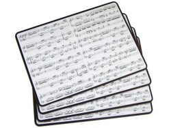 Making Music Set of Four Placemats
