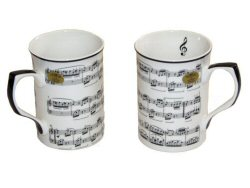Making Music Two Mug Set - B105Z0