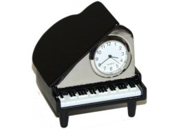 Grand Piano Desk Clock