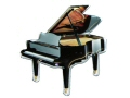 Grand Piano Fridge Magnet