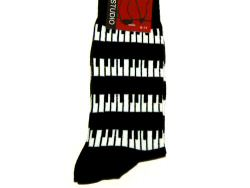 Horizontal Keyboard Design Socks