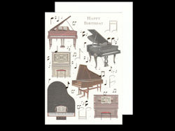 Piano Cards