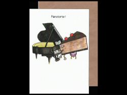 Pianotorte Card
