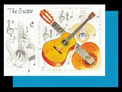 Classical Guitar Card