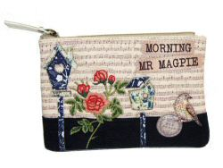 Vendula Songbird Zipped Coin Purse